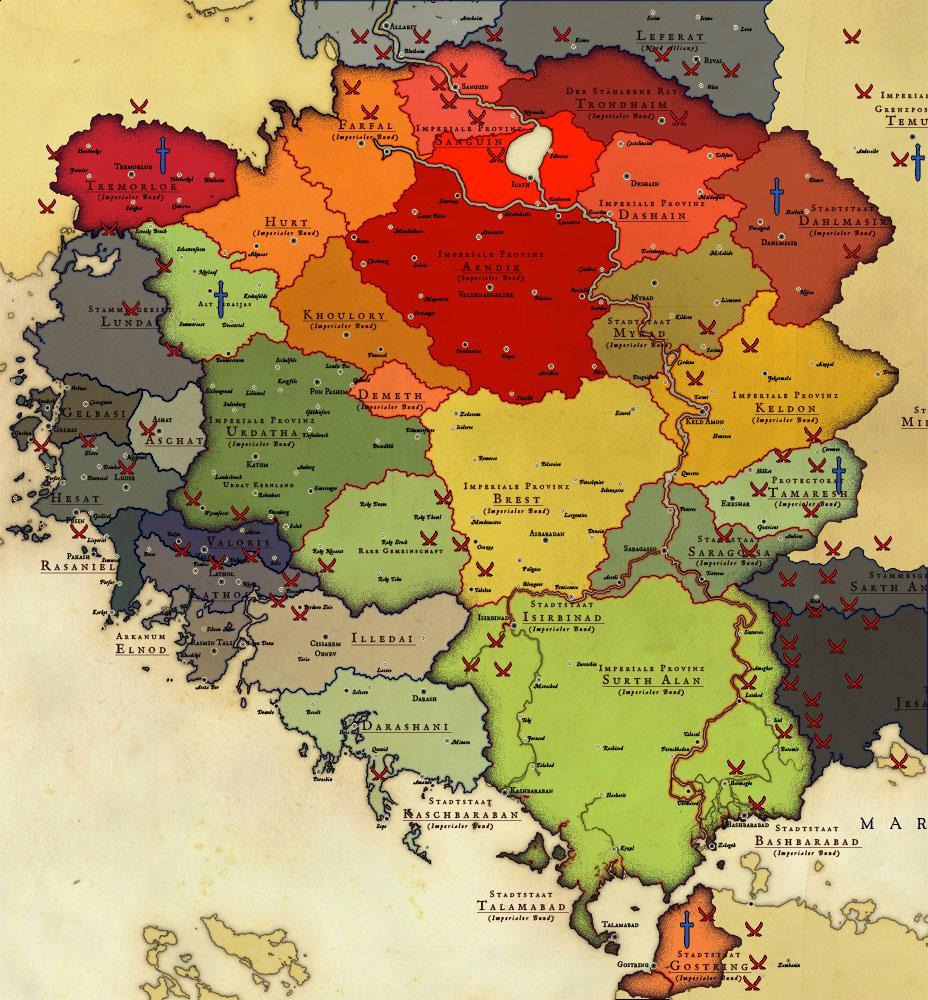 Mittelerde Karte Komplett.Welten Die Niemals Waren Die Karten Des Josephe Vandel Der