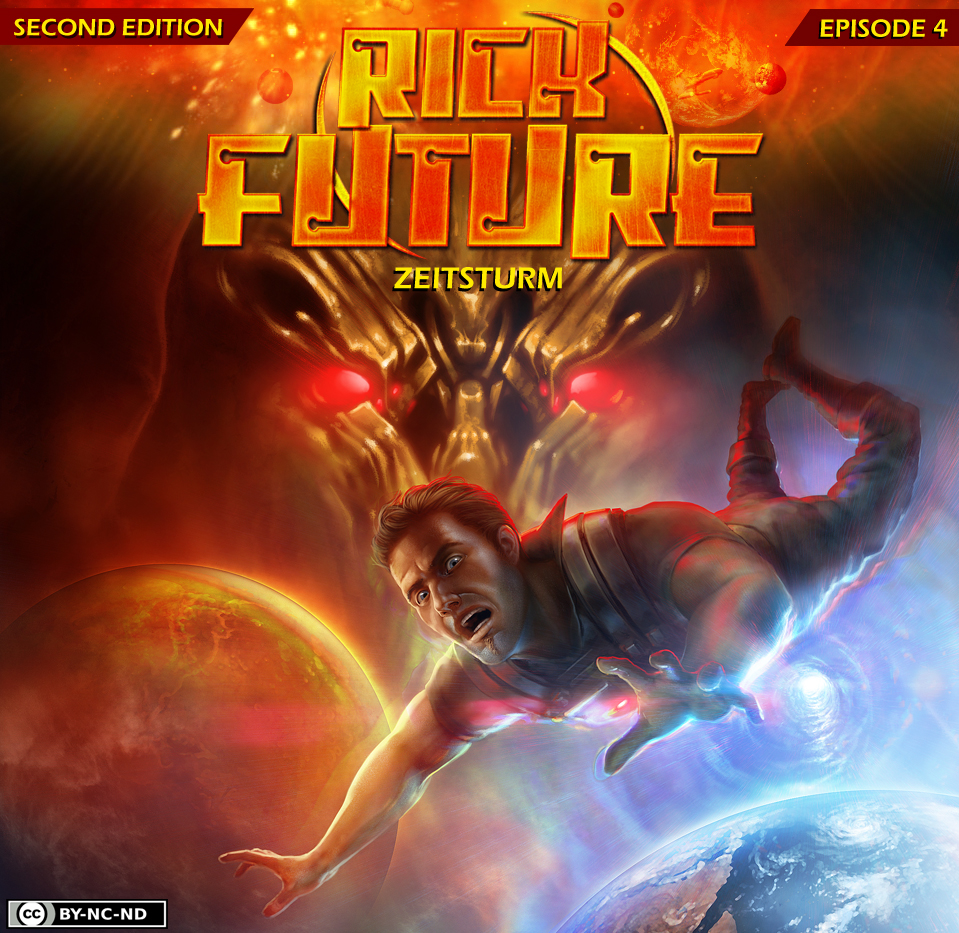Rick Future 4 Cover