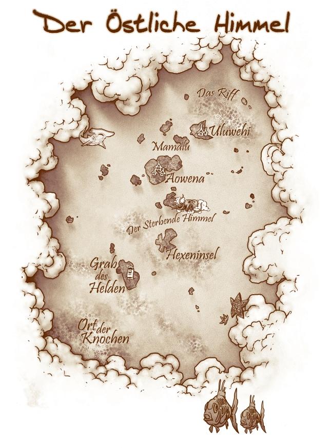 Kailani - Karte sepia