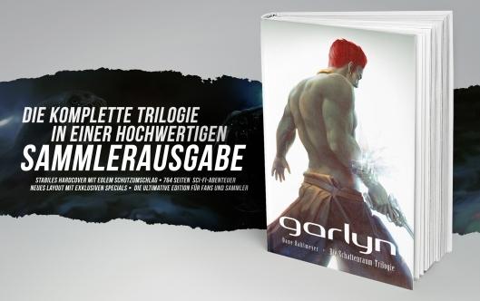Garlyn-Hardcover-Werbung